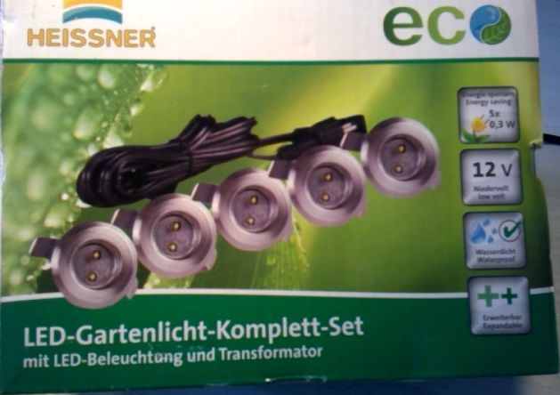 Super Bakir-Elektronik - LED Gartenlicht Komplett Set mit LED BO26